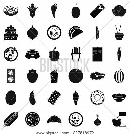 Power Value Icons Set. Simple Set Of 36 Power Value Vector Icons For Web Isolated On White Backgroun