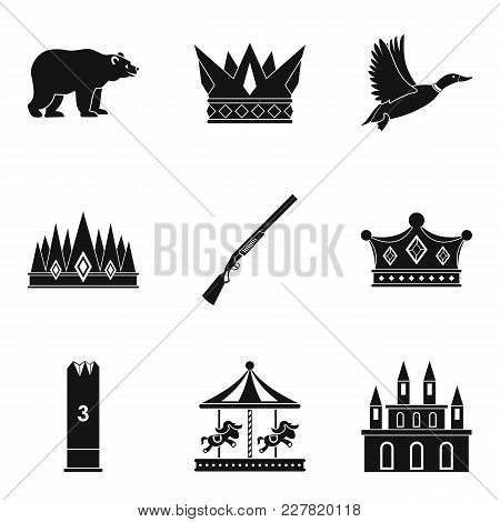 Stableman Icons Set. Simple Set Of 9 Stableman Vector Icons For Web Isolated On White Background