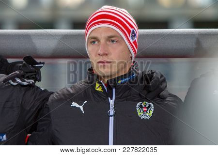Vienna, Austria, 2017/11/14: Philipp Schobesberger At Friendly International Soccer Match Austria Vs