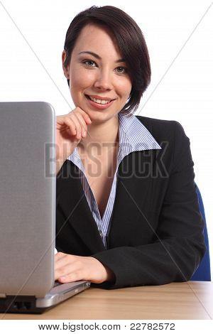 Portrait Of Beautiful Confident Business Woman