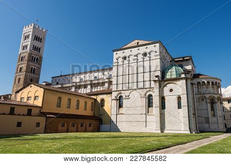 Cathedral Of San Martino (saint Martin), In Romanesque Gothic Style - Xi Century, In The Ancient Tow
