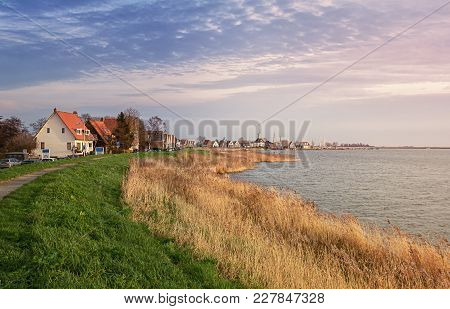 The Picturesque Village Of Durgerdam On The Lake Buiten Ij In The Netherlands
