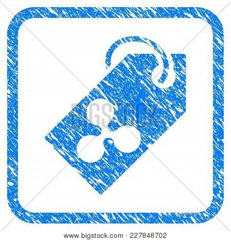 Ripple Token Rubber Seal Stamp Watermark. Icon Vector Symbol With Grunge Design And Corrosion Textur
