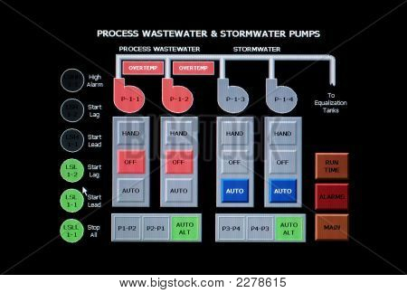 Industrial Waste Water Management System