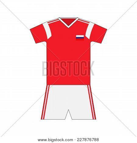 Football Kit. Russia 2018. National Team Equipment. T-shirt