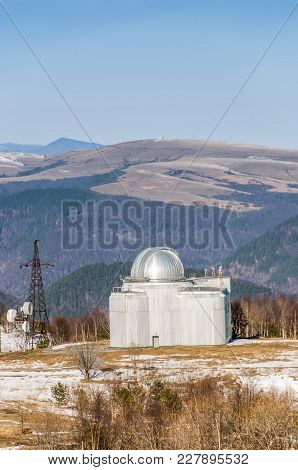 Special Astrophysical Observatory Of Russian Academy Of Sciences Located In Mountain Area , Caucasus