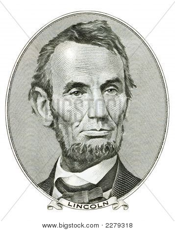 Retrato de Abraham Lincoln