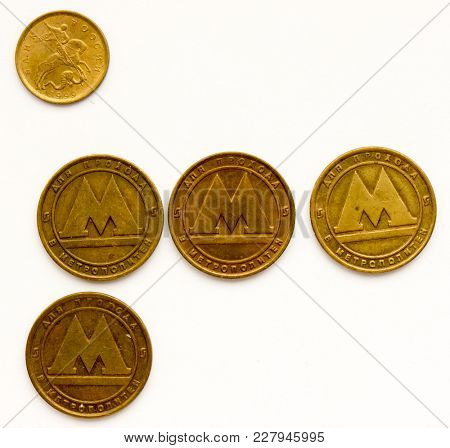 The Russian coin objects.