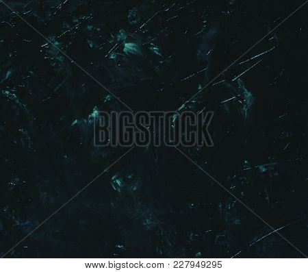 Marble Dark Stone Background With Green Colors