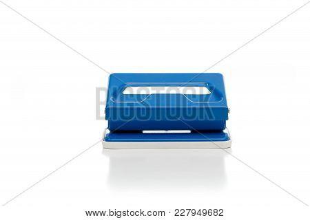 Stapler Against A White Background