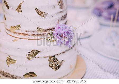 Wedding Cake On Wedding Banquet