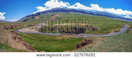 Chilik River On The Assy Mountain Plateau. Kazakhstan.