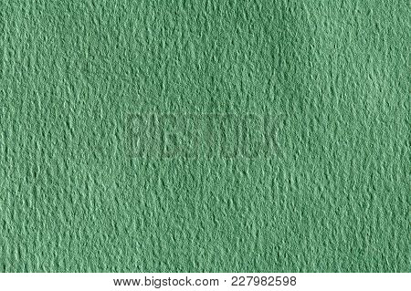 Green Paper Background With Pattern. High Resolution Image.