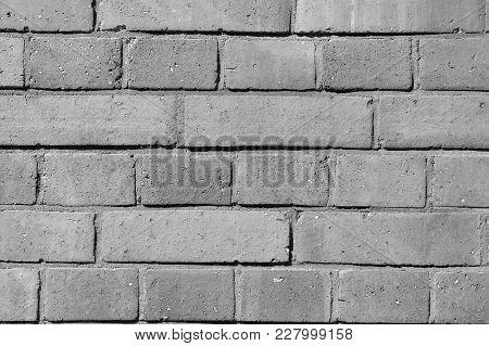 Background Of Old Brown Vintage Brick Wall