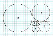 Golden ratio template vector, Divine Proportions, Golden Proportion. Universal meanings. Golden spiral, method of golden section, Fibonacci array, Fibonacci numbers. poster