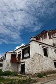 Potala palace and cloudscape in Lhasa ,Tibet poster