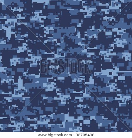 Military blue camouflage