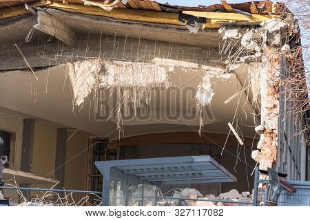 Demolition Of A House