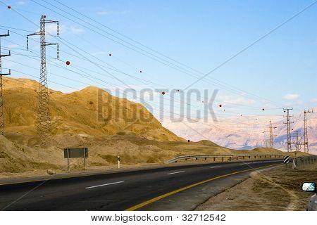 Highway In Desert