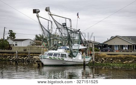 New Orleans, Usa - Dec 17, 2017: Fishing Trawler Called
