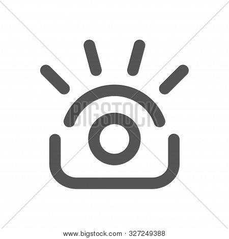 Photography Logo Template. Photo Camera And Eye Vector Design. Photographer Illustration. Eps 10