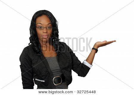Beautiful Hostess, Closeup (3)