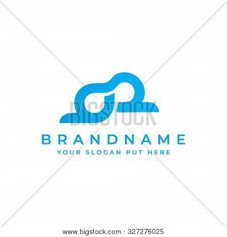 Bd Or Db Letter Logo Design Template