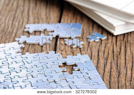 Blue Jigsaw Puzzle