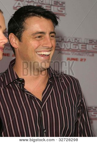 LOS ANGELES - JUN 18: Matt Leblanc at the premiere of 'Charlie's Angels: Full Throttle' on June 18, 2003 in Los Angeles, California