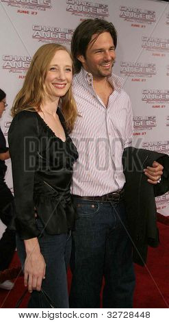 LOS ANGELES - JUN 18: Anne Heche, Coley Laffoon at the premiere of 'Charlie's Angels: Full Throttle' on June 18, 2003 in Los Angeles, California