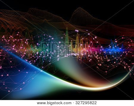 Stream Of Light Wave
