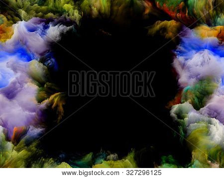 Rich Colorful Texture Frame