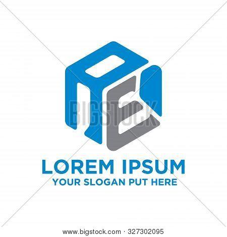 Creative And Modern Hexagon Ae Letter Logo Design Template Vector Eps