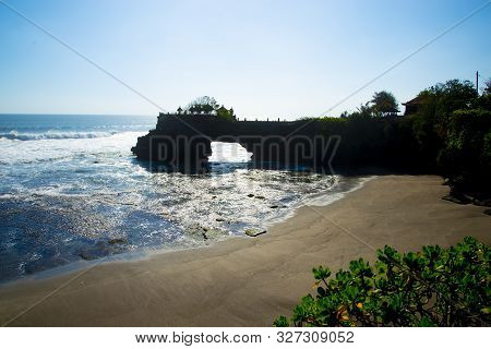 Tanah Lot Temple Cliff - Bali - Indonesia