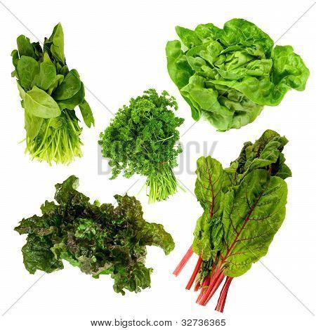 healthy dark green vegetables