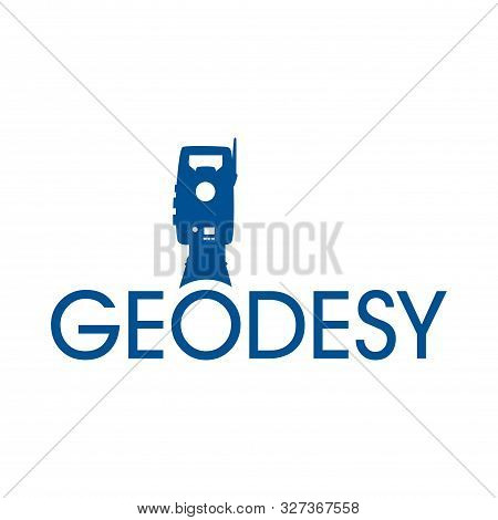 Vector Logo Of Geodesy, Design And Topography