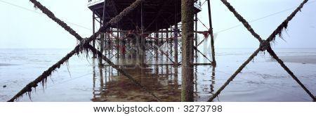 Metal Pier Support