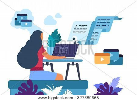 Content Writer. Media Creator And Online Freelance Article Writer, Blog Copywriter And Content Maker