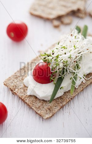 Crisp Bread Sandwich