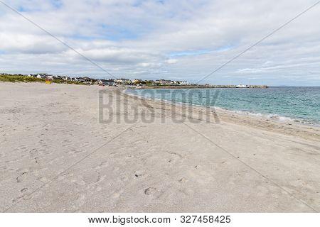 Port, village and beach in Inisheer island, Galway, Ireland