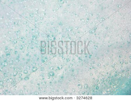 Foamy Water Bubbles