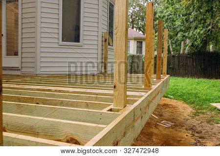 New Deck Patio With Modern Wooden Deck Installing Wood Floor For Patio