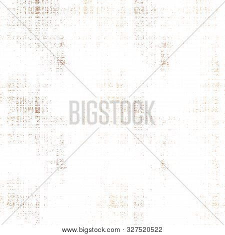 Rose Gold Foil Seamless Vector Grunge Texture Background. Patina Scratch Copper Repeating Tile. Dist