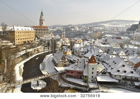 The historic city of Cesky Krumlov