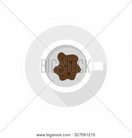 Future Coffee Teller Icon. Flat Illustration Of Future Coffee Teller Vector Icon For Web Design