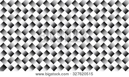 Lattice Seamless  Pattern. Silver Metal Net.  Abstract Modern Texture. Repeating  Background With In