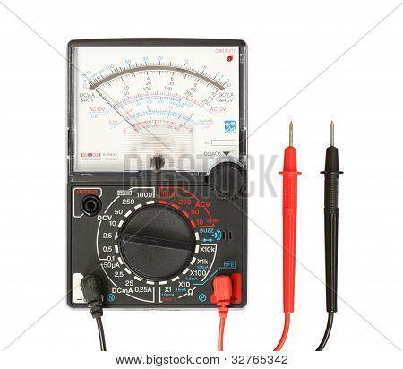 Multimeter With Probe