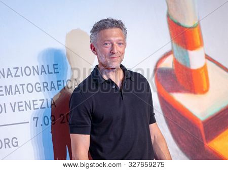 Vincent Cassel at the 76 Venice International Film Festival 2019. Irreversible red carpet. Venice (Italy), August 31th, 2019