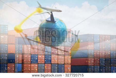 Containers Logistics Export Import Cargo Ship Air Carrier Trade Tariffs Customs Duty Tax Tariff Barr