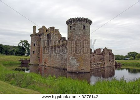 Caerlaverock Castle Scotland